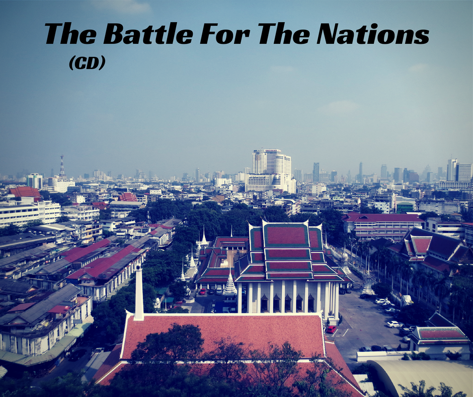 The Battle For The Nations (CD)