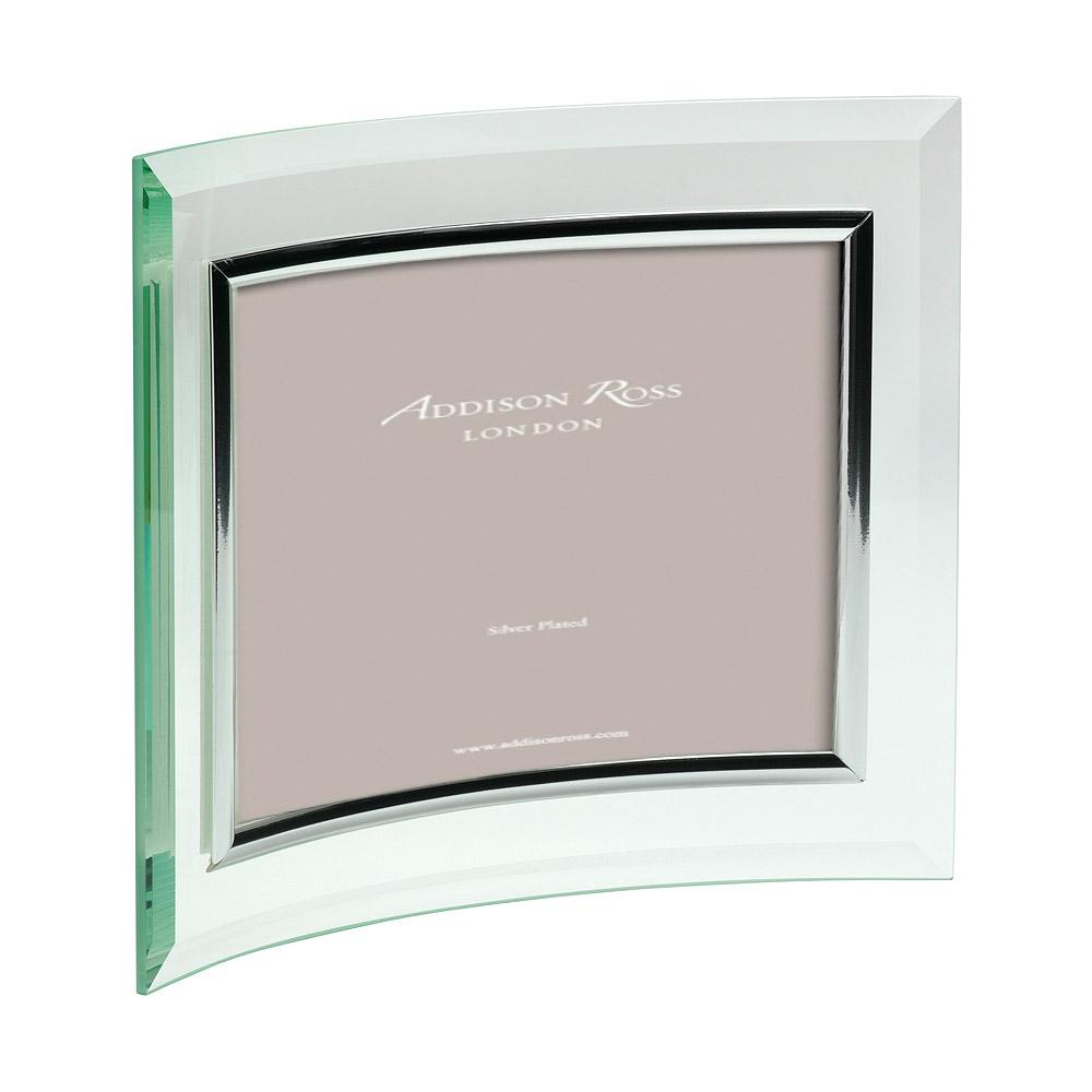 Curved Glass Landscape Photo Frame - Glass Frames - Addison Ross
