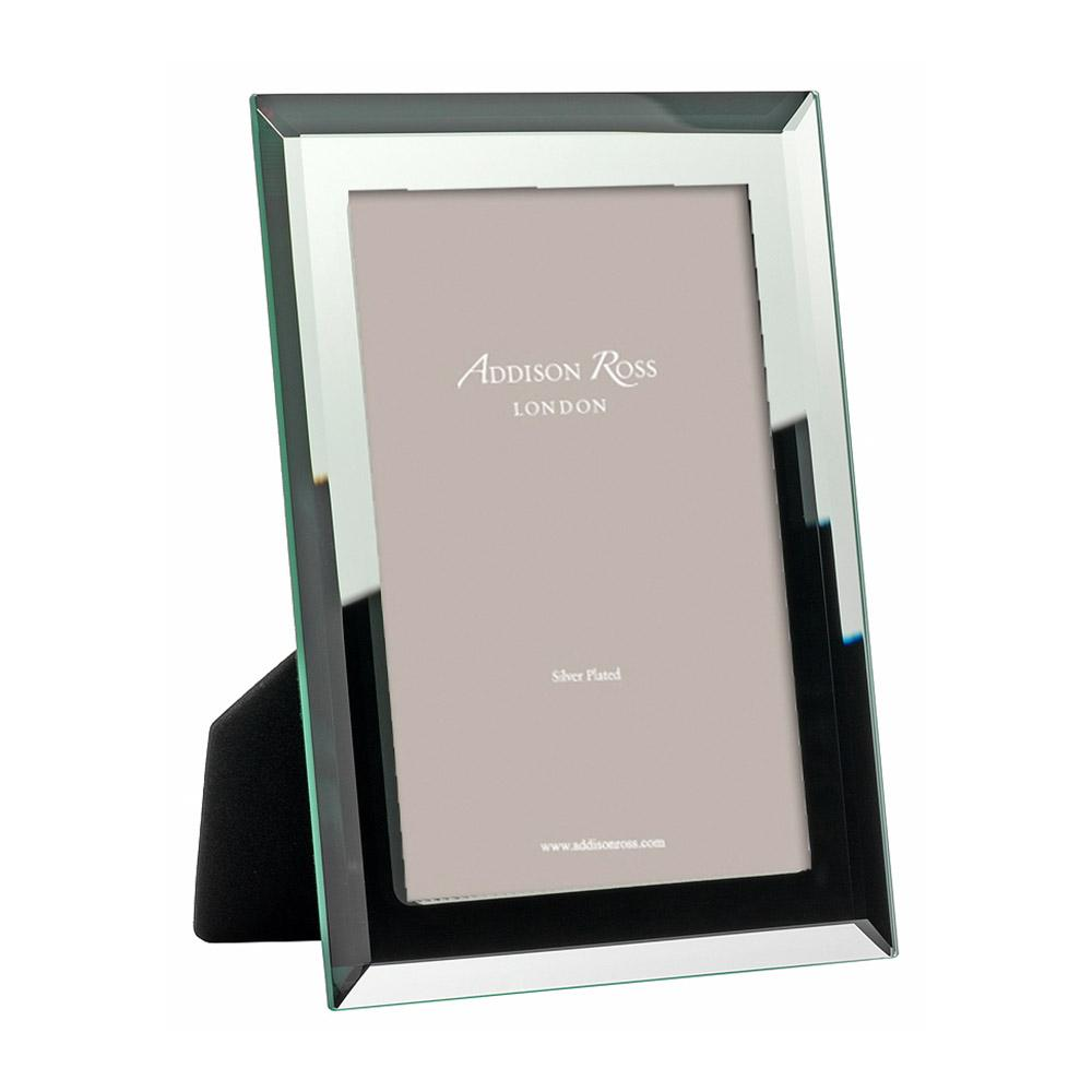 Bevelled Mirror Photo Frame - Glass Frames - Addison Ross