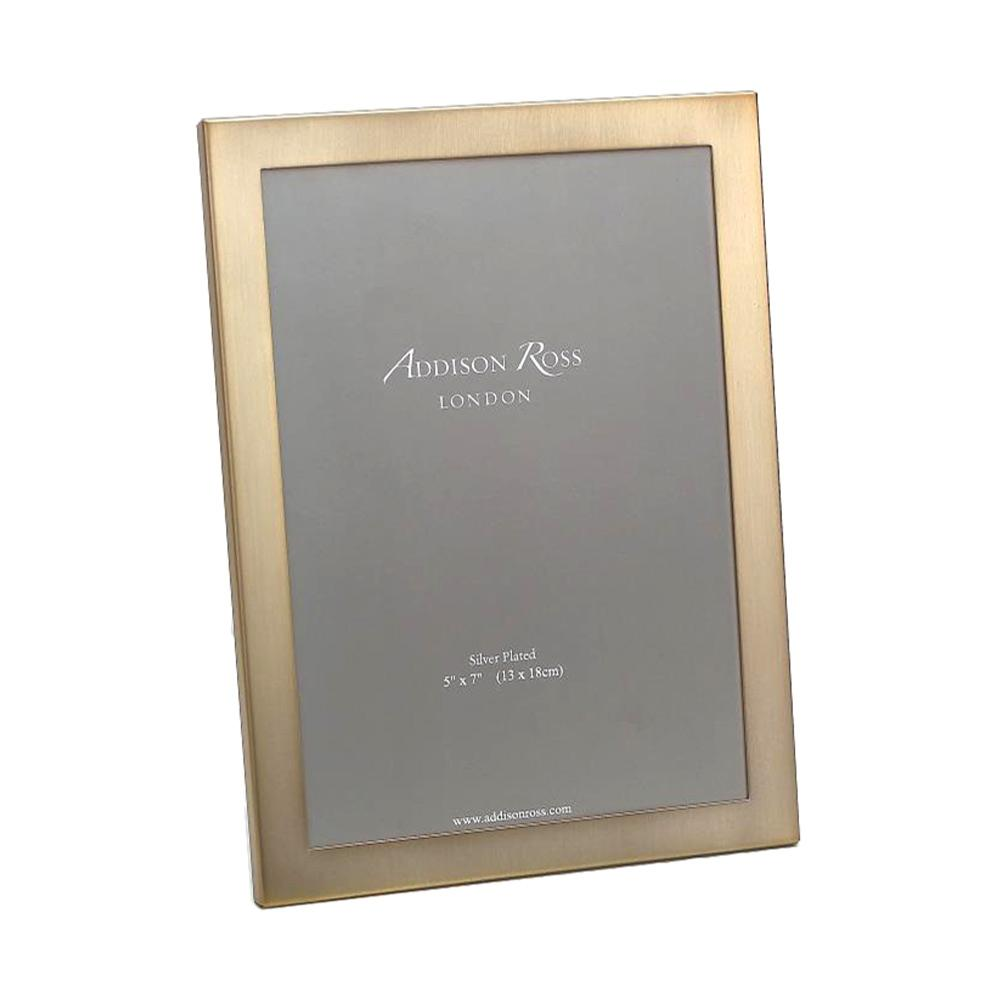Matt Gold Photo Frame with Squared Corners | Addison Ross