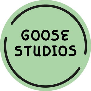 Goose Studios Unisex Sustainable Fashion Logo