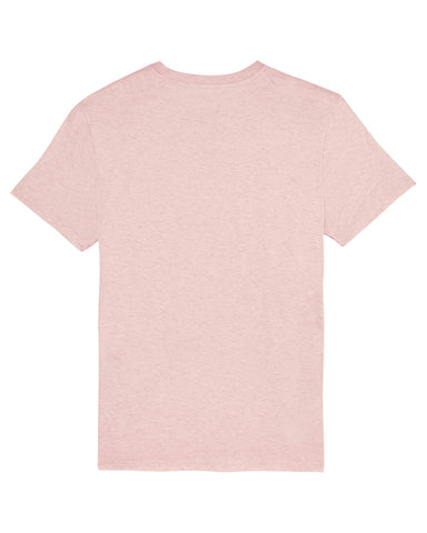 Men's Attenborough Organic T-Shirt - Heather Pink