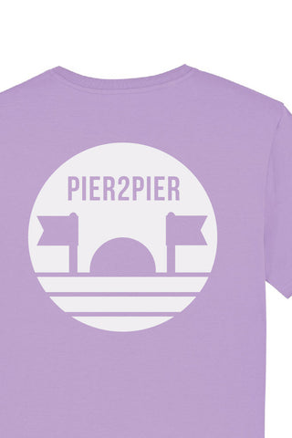 This T-Shirt Cleans Beaches - Lilac - Mens