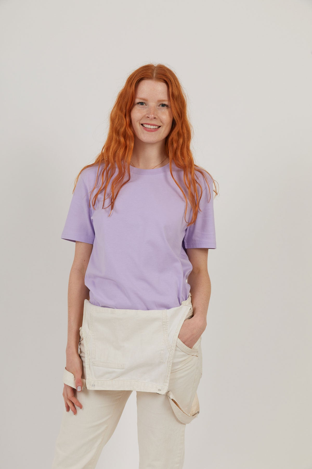 Attenborough Organic T-Shirt - Lilac