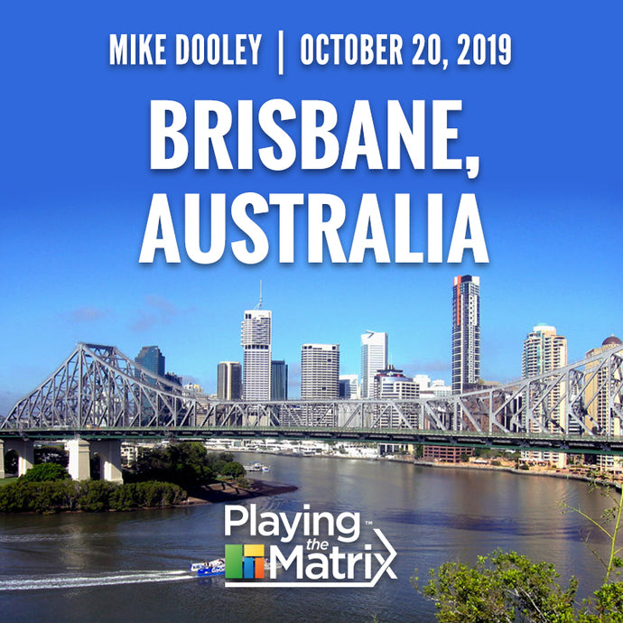 Playing the Matrix - Brisbane, Australia - October 20, 2019