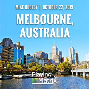 Playing the Matrix - Melbourne, Australia - October 22, 2019