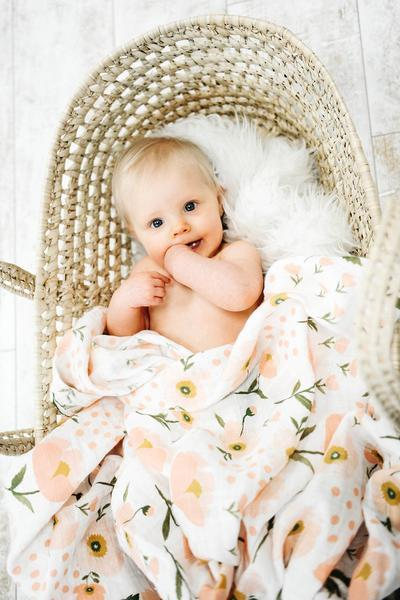 Swaddle | Water Lillies
