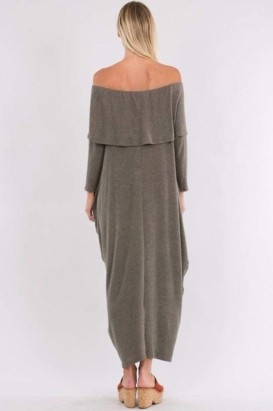 All the Feels Knit Maxi Sweater Dress - SALE - Affordable Boutique Fashion