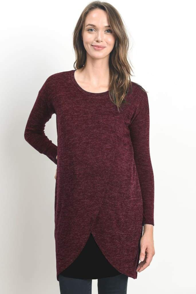 Cozy Mama Maternity + Nursing Knit - Nursing Friendly - Affordable Boutique Fashion