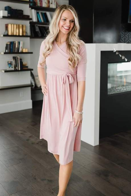 JILLIAN MIDI | Blush