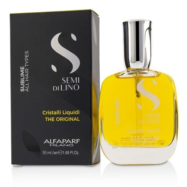 Alfaparf Semi Di Lino Sublime Cristalli Liquid, the Original