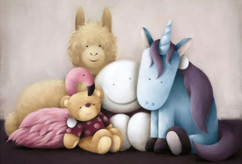 Doug Hyde Best Friends Forever art print, edition size 395