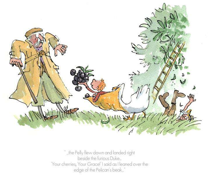 Roald Dahl The Giraffe, the Pelly and me