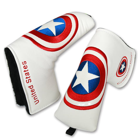 Captain America Blade Putter Cover