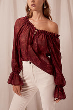 Load image into Gallery viewer, Sahara Blouse- Pinot