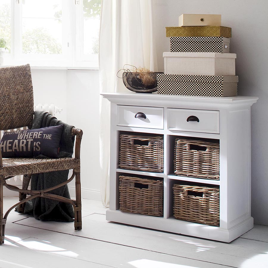 Halifax Buffet Small with Basket Set