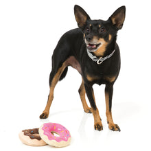 Load image into Gallery viewer, FuzzYard Donuts Plushy Dog Toy