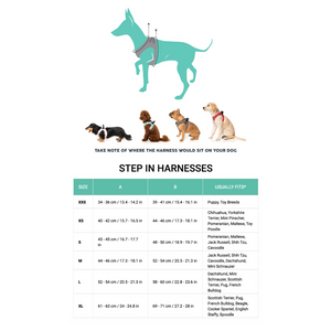 FuzzYard Monkey Mania Step In Dog Harness