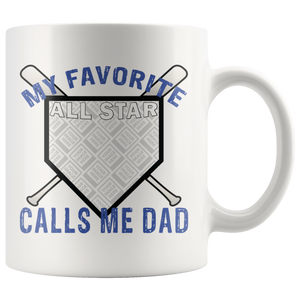 Personalized Dad Mug