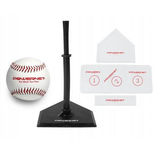 PowerNet Baseball or Softball T-Ball Coaching Bundle - GrandSlamDirect.com
