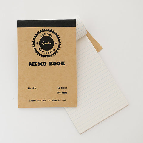American Vintage Memo Book / RAD AND HUNGRY