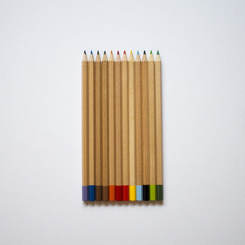 Romanian Colored Pencil Set / RAD AND HUNGRY