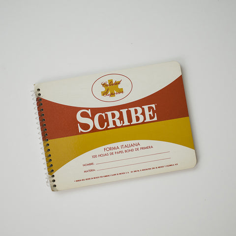 Vintage Scribe Notebooks – Italiana | RAD AND HUNGRY