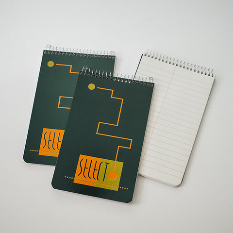 Mexican Select Green Notepad with Steno Paper | RAD AND HUNGRY