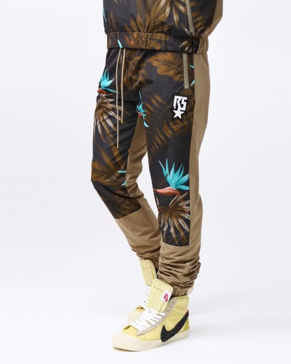 TROPICAL PANT-COLOR: KHAKI