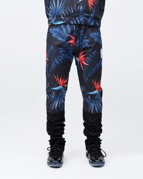 TROPICAL PANT-COLOR: BLACK