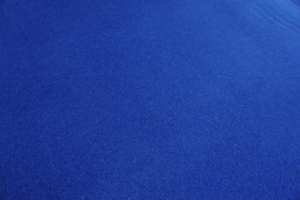 Indigo Brushed Gaberdine Coating