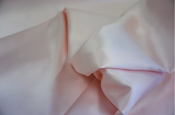 Light Pink Italian Silk Zibeline