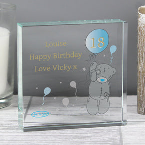Personalised Me To You Balloon Large Crystal Token