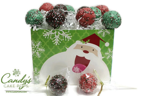 Happy Santa & Friends Cake Pop Gift Box