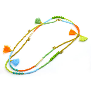 Global Crafts - Kerala 3-in-1 Necklace Island - Global Groove (J)