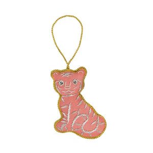Global Crafts - Felt Holiday Ornament Tiger - Matr Boomie (H)