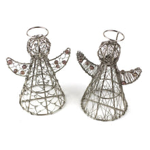 Load image into Gallery viewer, Global Crafts - Halo Angels Set of Two - Mira (D)
