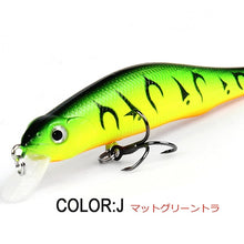 Load image into Gallery viewer, Retail A+ fishing lures, assorted colors, minnow crank  80mm 8.5g,magnet system. bearking 2016 hot model crank bait