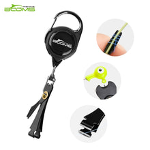 Load image into Gallery viewer, Booms Fishing Quick Knot Tying Tool Fly Fishing Line Scissors Cutter Clipper Nippers Fast Knotter Tie Zinger Retractor Tackle
