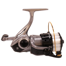 "Load image into Gallery viewer, Zebco / Quantum Spyn Spinning Reel 30, 5.3:1 Gear Ratio, 28"" Retrieve Rate, 3 Bearings, Right Hand, Boxed"