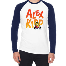 Official Alex Kidd in Miracle World Sukopako Bike Raglan