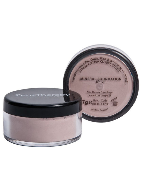 ZenzTherapy Mineral  Foundation 7 g no 21