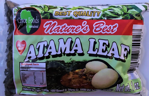 Dried Atama Leaves - Carry Go Market