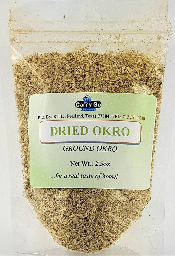 Dried Okra - Carry Go Market