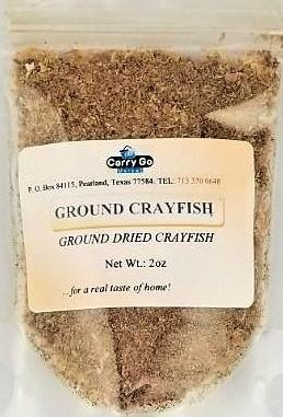 Ground Crayfish 2oz - Carry Go Market