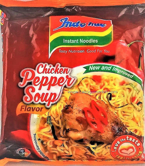 Indomie Noodles - Chicken Pepper Soup Flavor - Carry Go Market