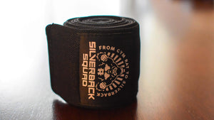 SilverBackSquad Knee Wraps (Pair) for Cross Training
