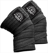 Load image into Gallery viewer, SilverBackSquad Knee Wraps (Pair) for Cross Training