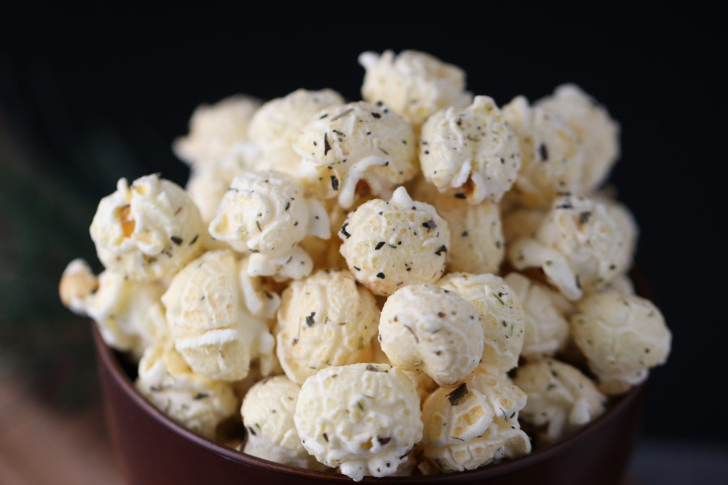 Parmesan and Herbs Popcorn