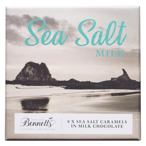 Sea Salt Caramels in Milk Collection